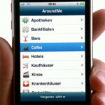 iPhone 3G (AroundMe)
