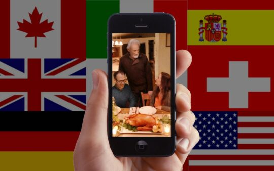 iPhone 5 (Turkey/Christmas – in every language)