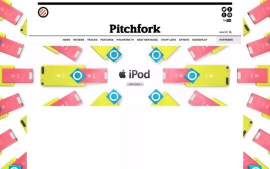 iPod Linuep (touch, nano & shuffle) – Pitchfork 3D Online