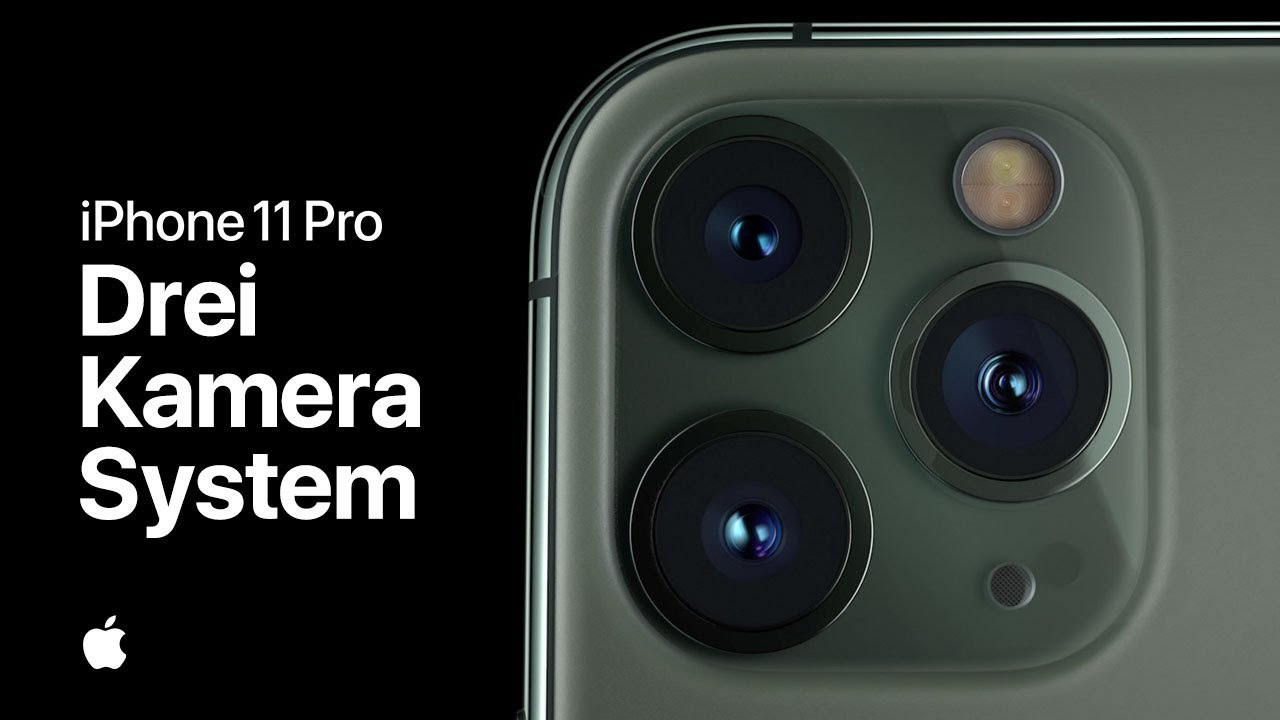 iphone 11 pro drei kamera system apple werbung. Black Bedroom Furniture Sets. Home Design Ideas